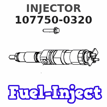 107750-0320 INJECTOR