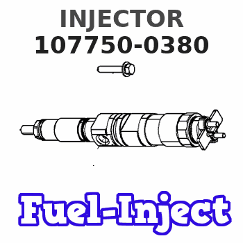 107750-0380 INJECTOR