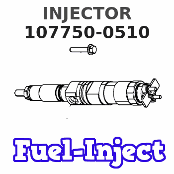 107750-0510 INJECTOR