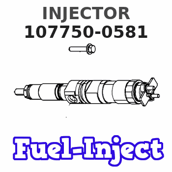 107750-0581 INJECTOR