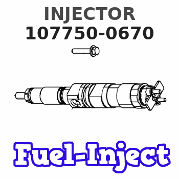 107750-0670 INJECTOR