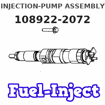 108922-2072 INJECTION-PUMP ASSEMBLY