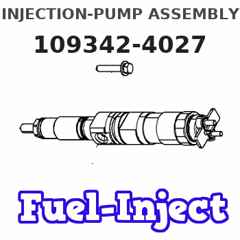 109342-4027 INJECTION-PUMP ASSEMBLY