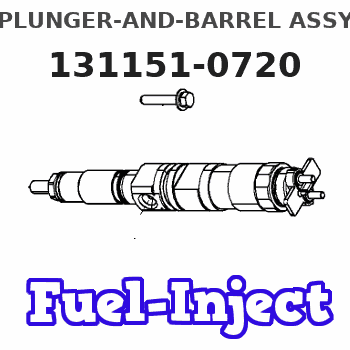 131151-0720 PLUNGER-AND-BARREL ASSY