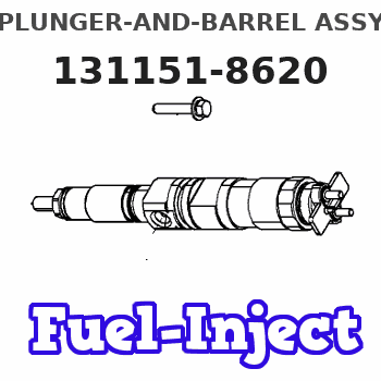 131151-8620 PLUNGER-AND-BARREL ASSY