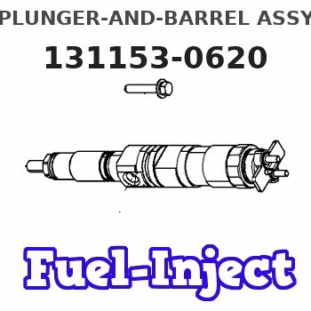 131153-0620 PLUNGER-AND-BARREL ASSY