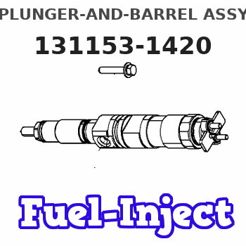 131153-1420 PLUNGER-AND-BARREL ASSY
