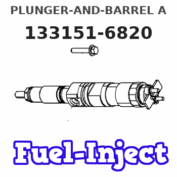 133151-6820 PLUNGER-AND-BARREL A