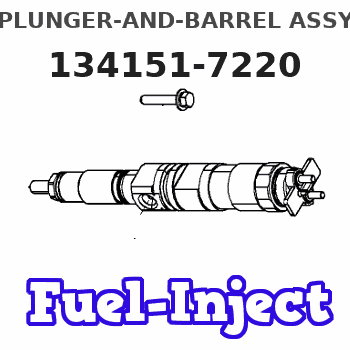 134151-7220 PLUNGER-AND-BARREL ASSY