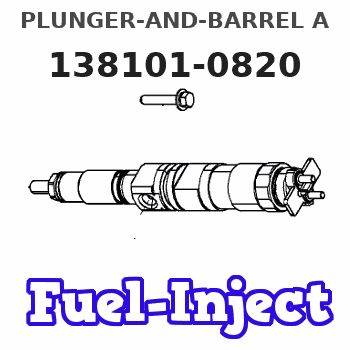 138101-0820 PLUNGER-AND-BARREL A