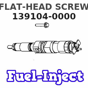 139104-0000 FLAT-HEAD SCREW