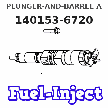 140153-6720 PLUNGER-AND-BARREL A