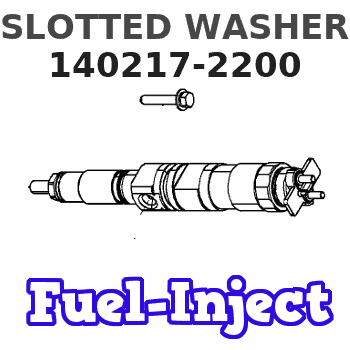 140217-2200 SLOTTED WASHER