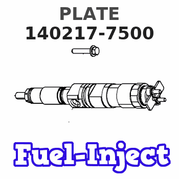 140217-7500 PLATE