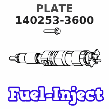 140253-3600 PLATE