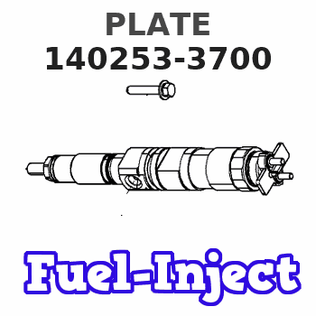 140253-3700 PLATE