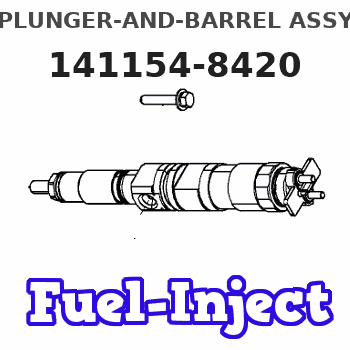 141154-8420 PLUNGER-AND-BARREL ASSY
