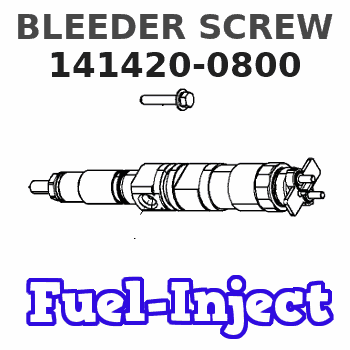 141420-0800 BLEEDER SCREW
