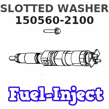 150560-2100 SLOTTED WASHER