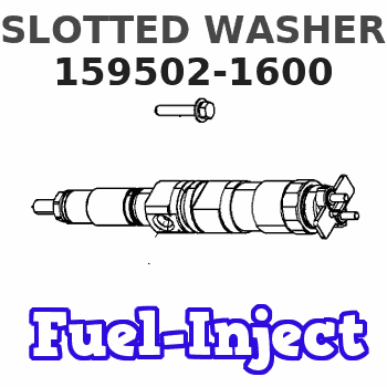 159502-1600 SLOTTED WASHER