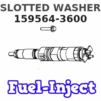 159564-3600 SLOTTED WASHER